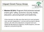 impact grant focus areas2