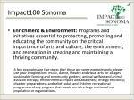 impact100 sonoma3