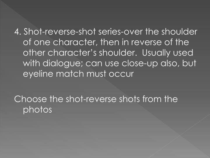 4. Shot-reverse-shot series-over the
