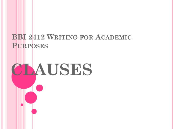 Bbi 2412 writing for academic purposes