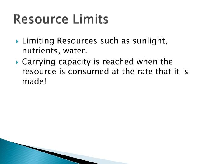 Resource Limits