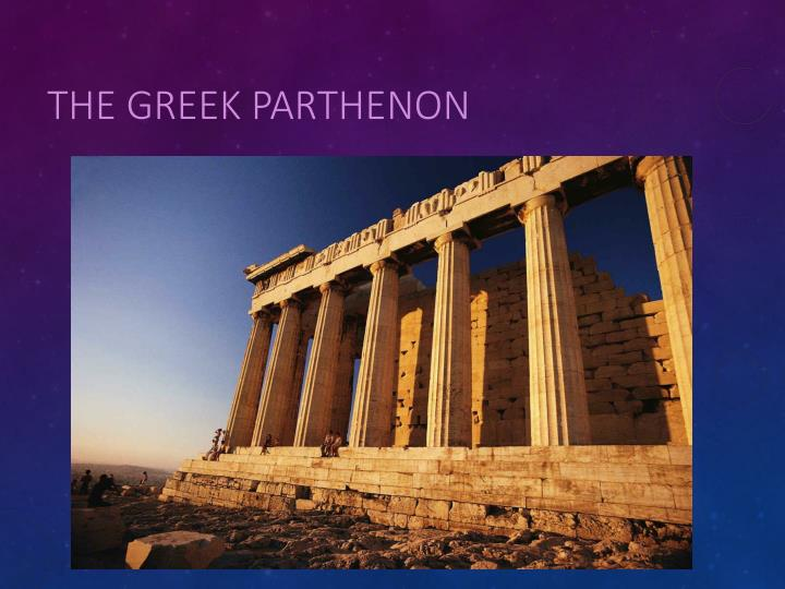 The Greek Parthenon
