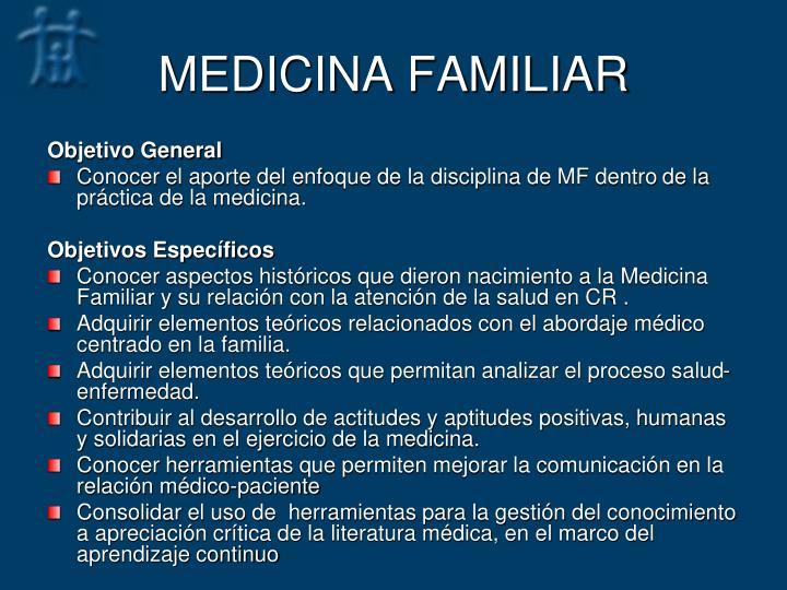 MEDICINA FAMILIAR