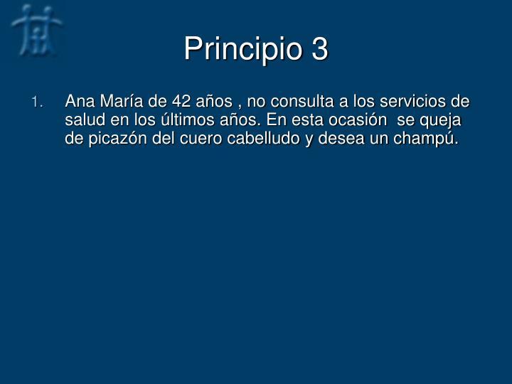 Principio 3