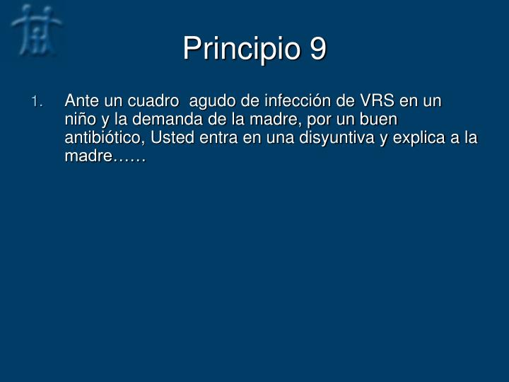 Principio 9