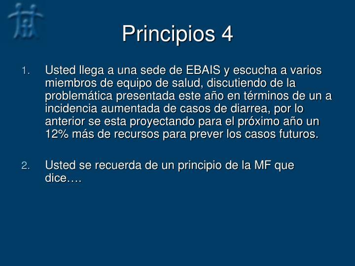 Principios 4