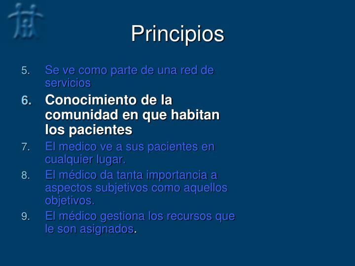 Principios