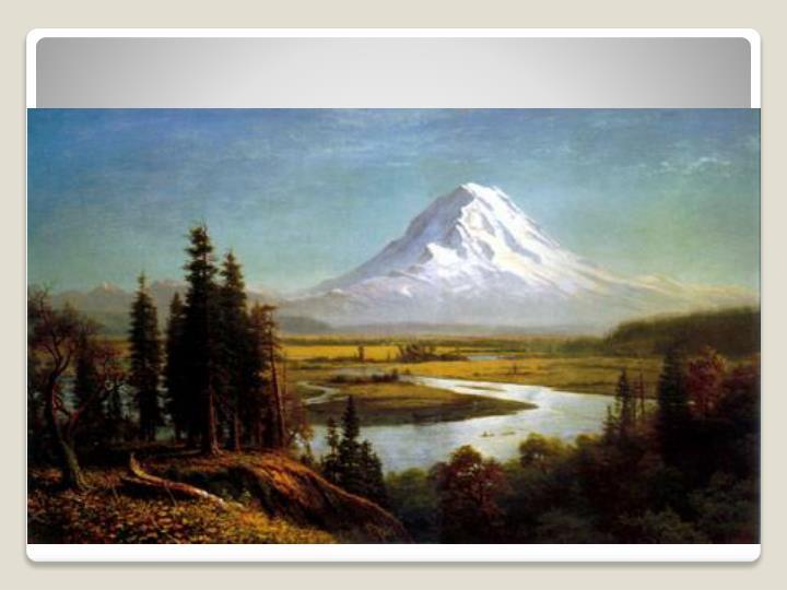 Albert Bierstadt 'Mt. Rainier'
