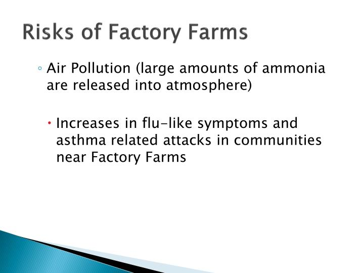 Risks of Factory Farms