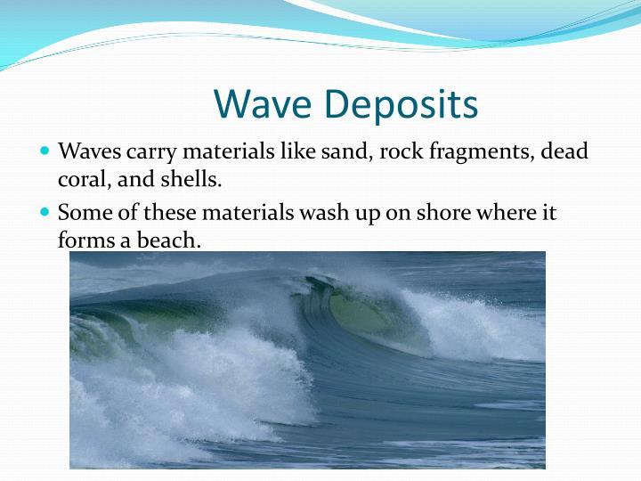 Wave Deposits