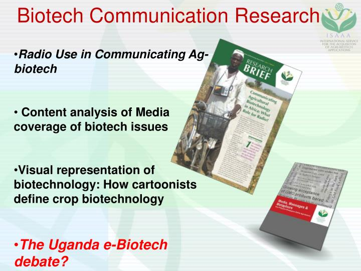 Biotech Communication Research