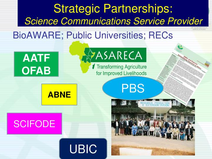 Strategic Partnerships:
