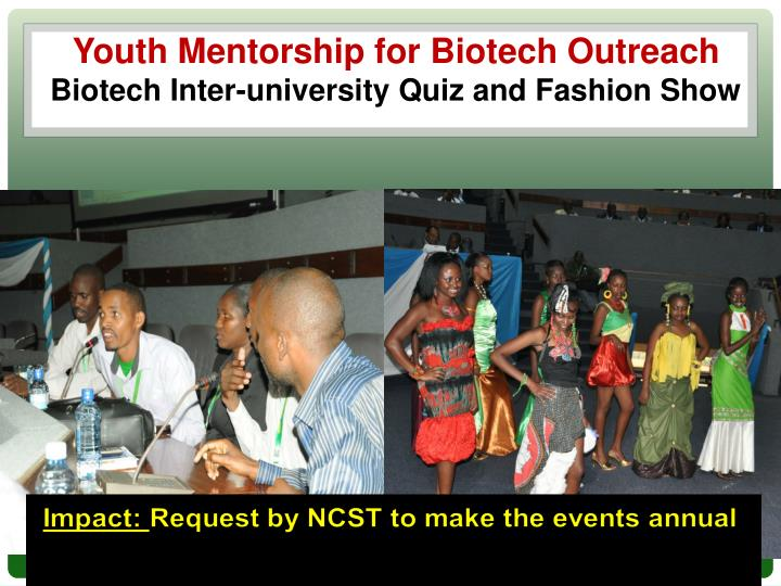 Youth Mentorship for Biotech Outreach