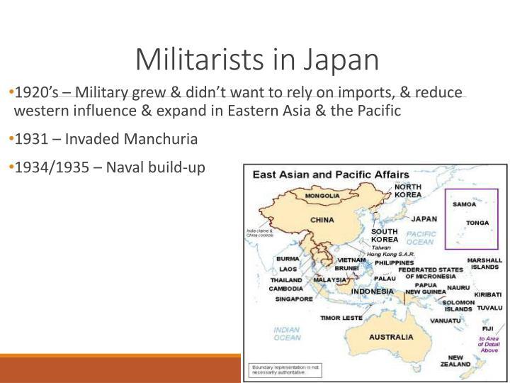 rise of militarism in japan essay