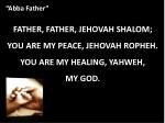 abba father3