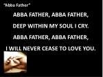 abba father4