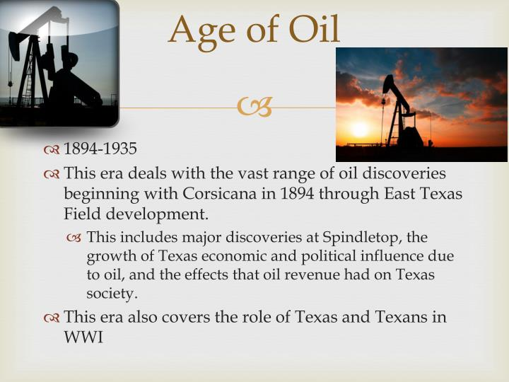 Age of Oil