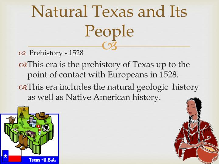 Natural texas and its people