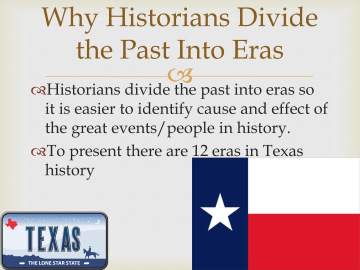 Why Historians Divide the Past Into Eras