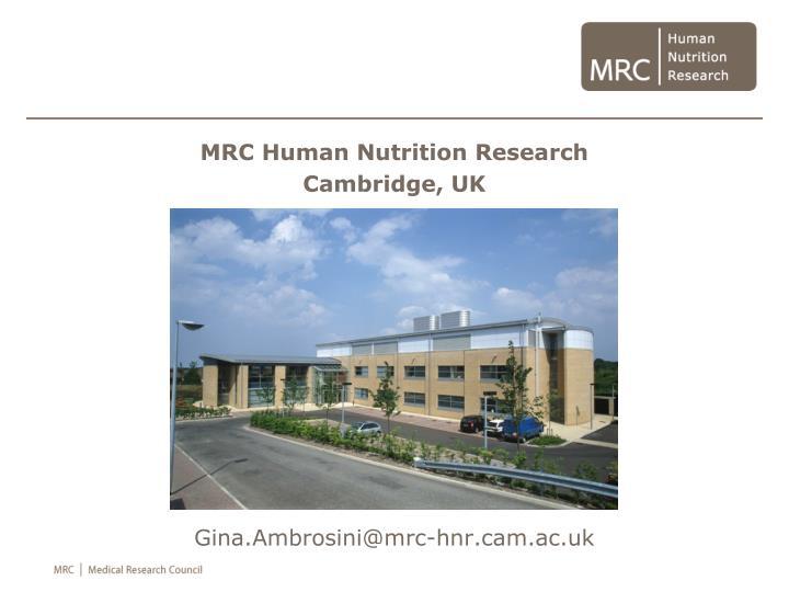 Gina.Ambrosini@mrc-hnr.cam.ac.uk