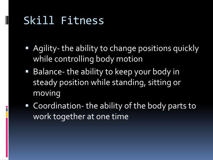 Skill Fitness