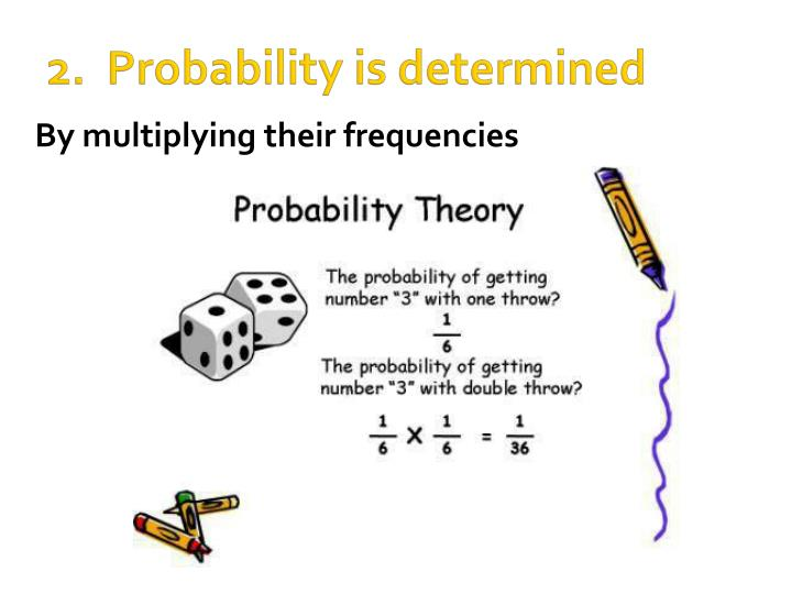 2.  Probability is determined