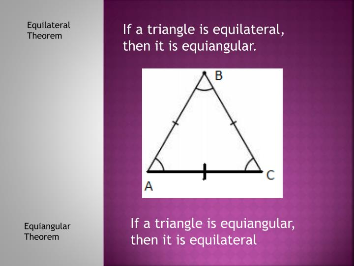Equilateral Theorem