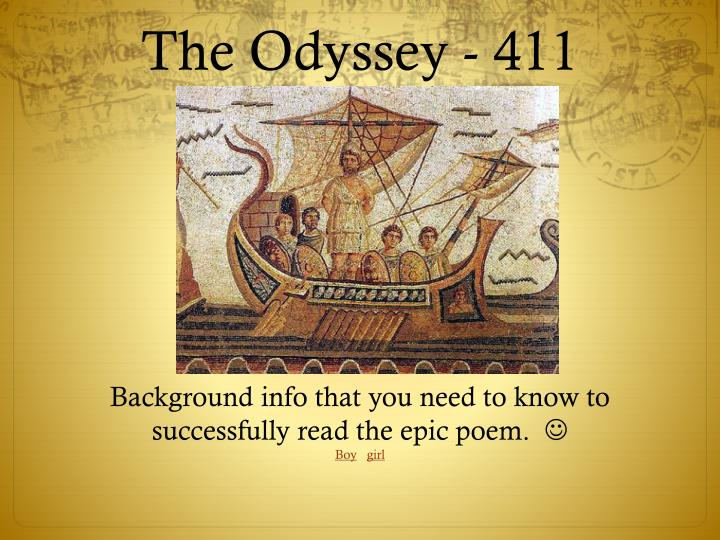 Essays On The Odyssey