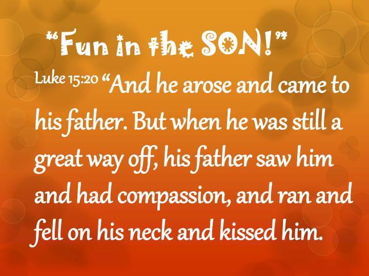 """Fun in the SON"