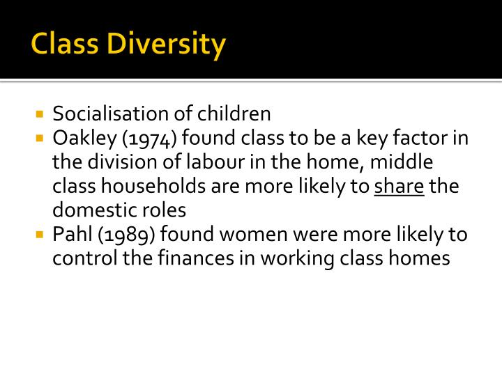 Class Diversity