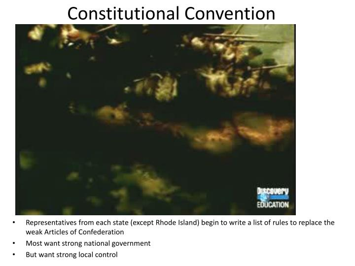 Rhode Island Constitutional Convention Question