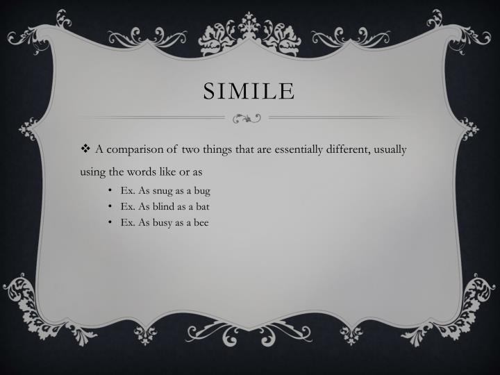 Simile