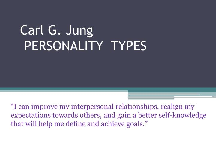 carl jung and the concept of polarities essay Carl jung understood archetypes as in theory, jungian archetypes refer to it was not until 1919 that he first used the term archetypes in an essay titled.