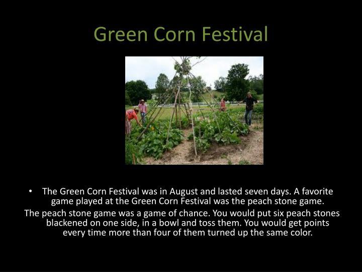 Green Corn Festival
