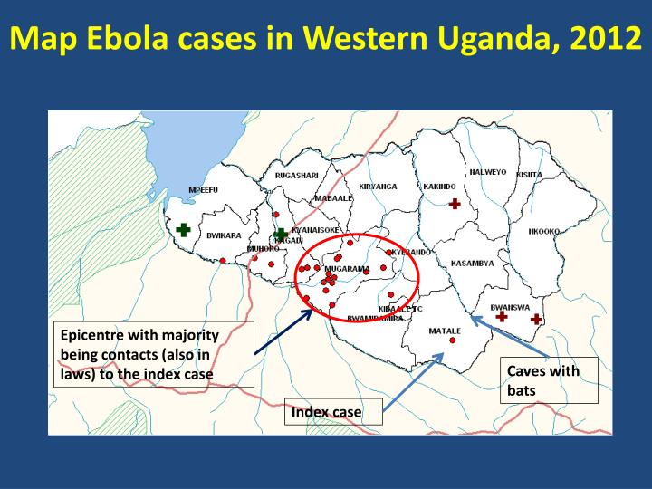 Map Ebola cases in