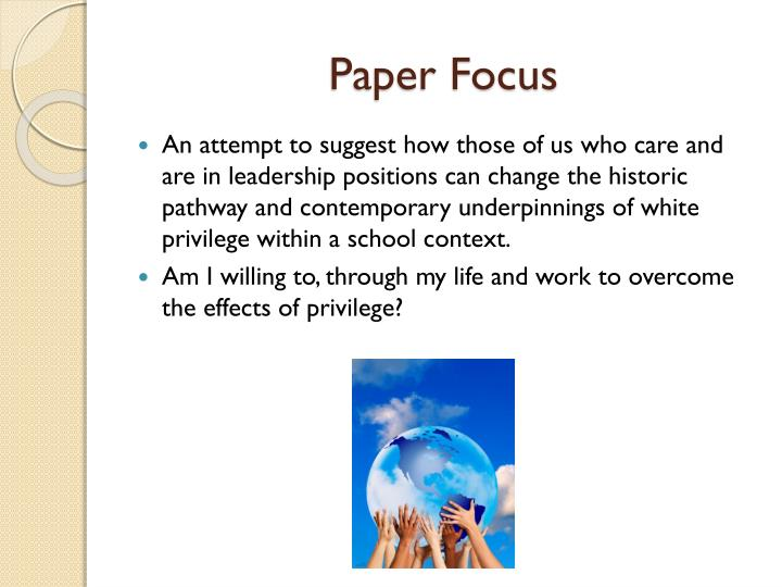 Paper Focus