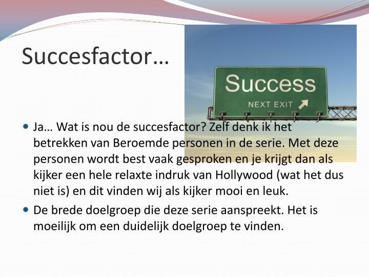 Succesfactor…