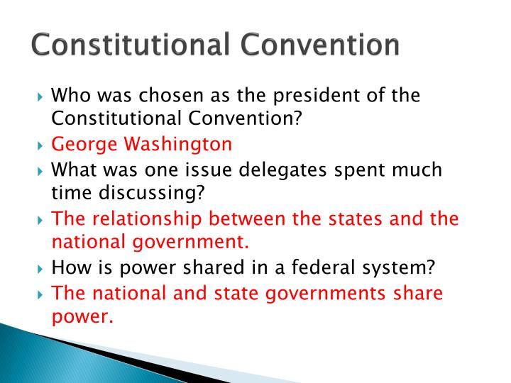 relationship between annapolis convention and constitutional