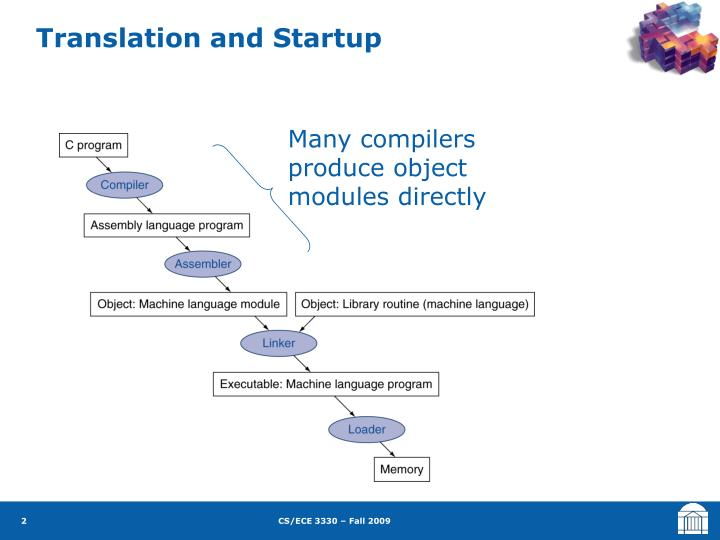 Translation and startup