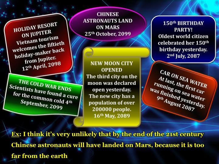 CHINESE ASTRONAUTS LAND ON MARS