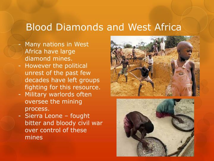 Blood Diamonds and West Africa