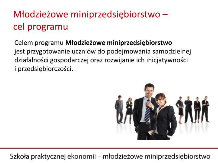 Młodzieżowe miniprzedsiębiorstwo –