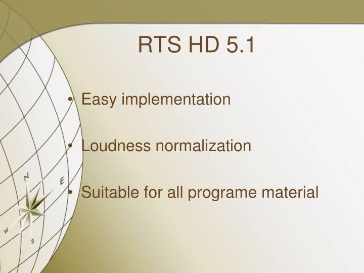RTS HD 5.1