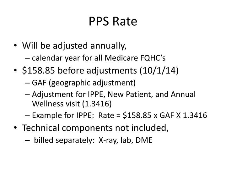 PPS Rate