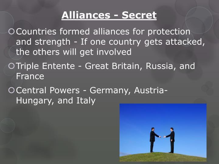 Alliances - Secret