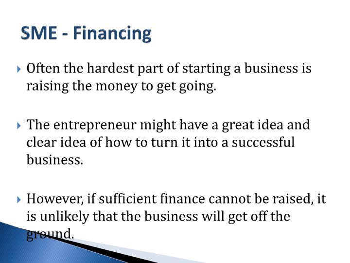SME - Financing