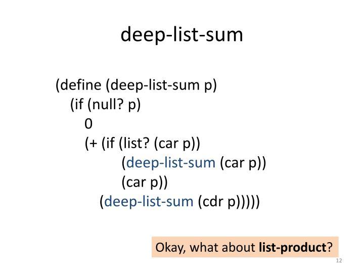 deep-list-sum