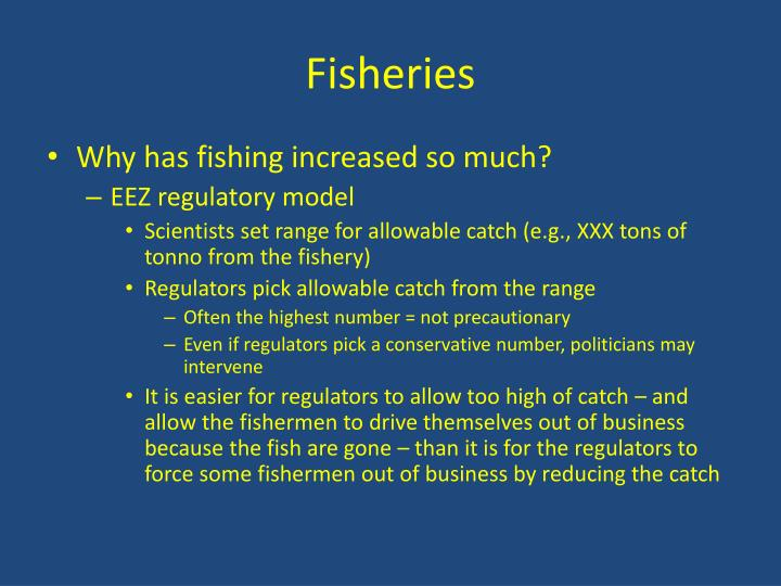 Fisheries