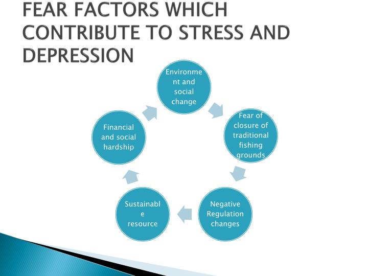 FEAR FACTORS WHICH CONTRIBUTE TO STRESS AND DEPRESSION