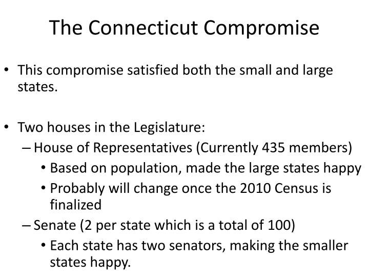 The connecticut compromise1